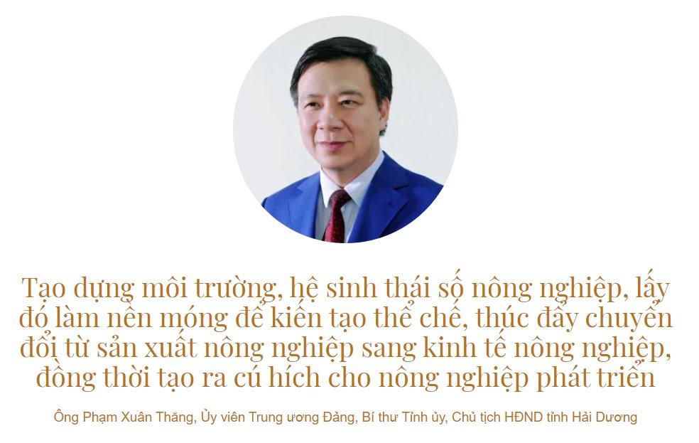 Ông Phạm Xuân Thăng, Ủy viên Trung ương Đảng, Bí thư Tỉnh ủy, Chủ tịch HĐND tỉnh Hải Dương